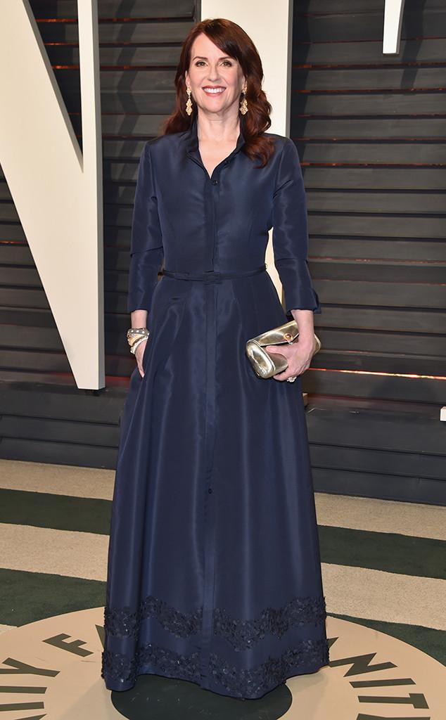 ESC: Megan Mullally, 2017 Oscars, Vanity Fair After Party