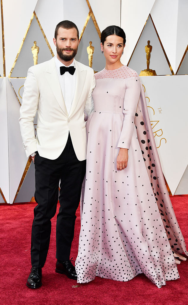 Jamie Dornan, Amelia Warner, 2017 Oscars, Academy Awards, Couples