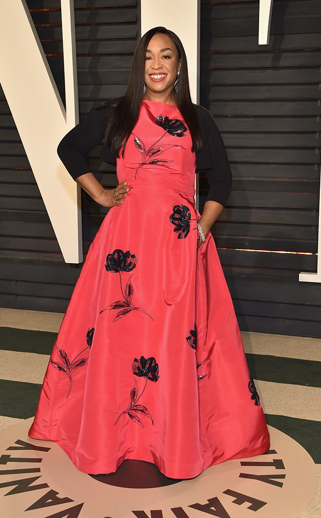 Shonda Rhimes, 2017 Oscars, Vanity Fair After Party