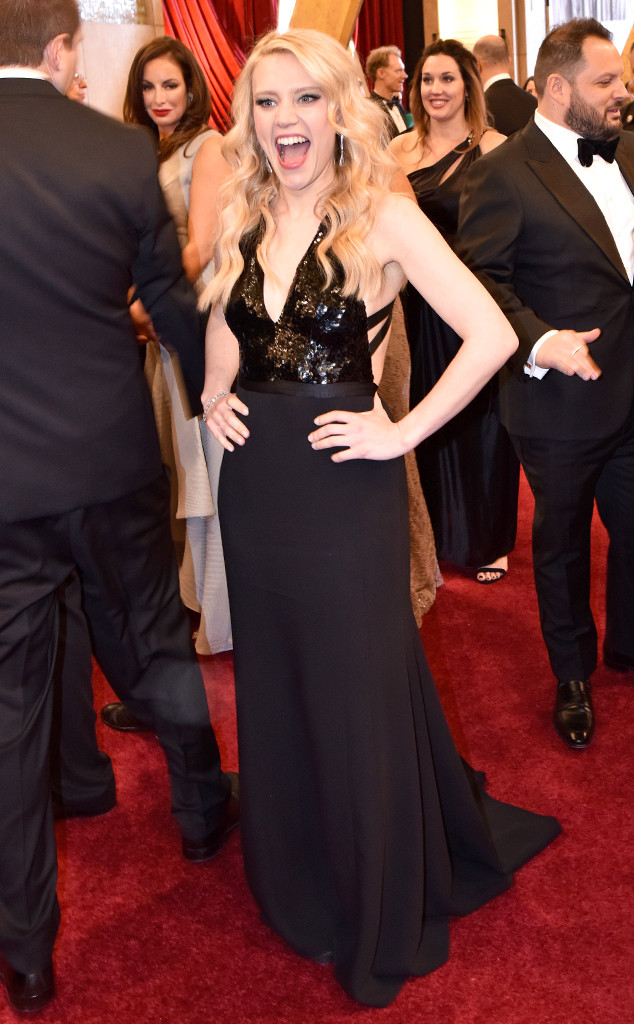 Kate McKinnon, 2017 Oscars, Academy Awards, Candids