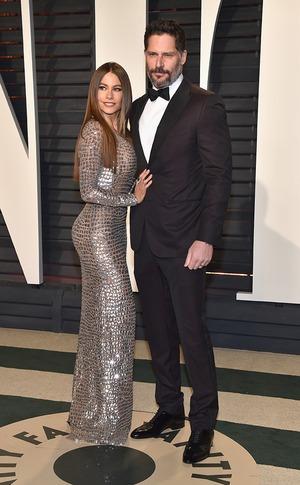 Sofia Vergara, Joe Manganiello, 2017 Oscars, Vanity Fair After Party