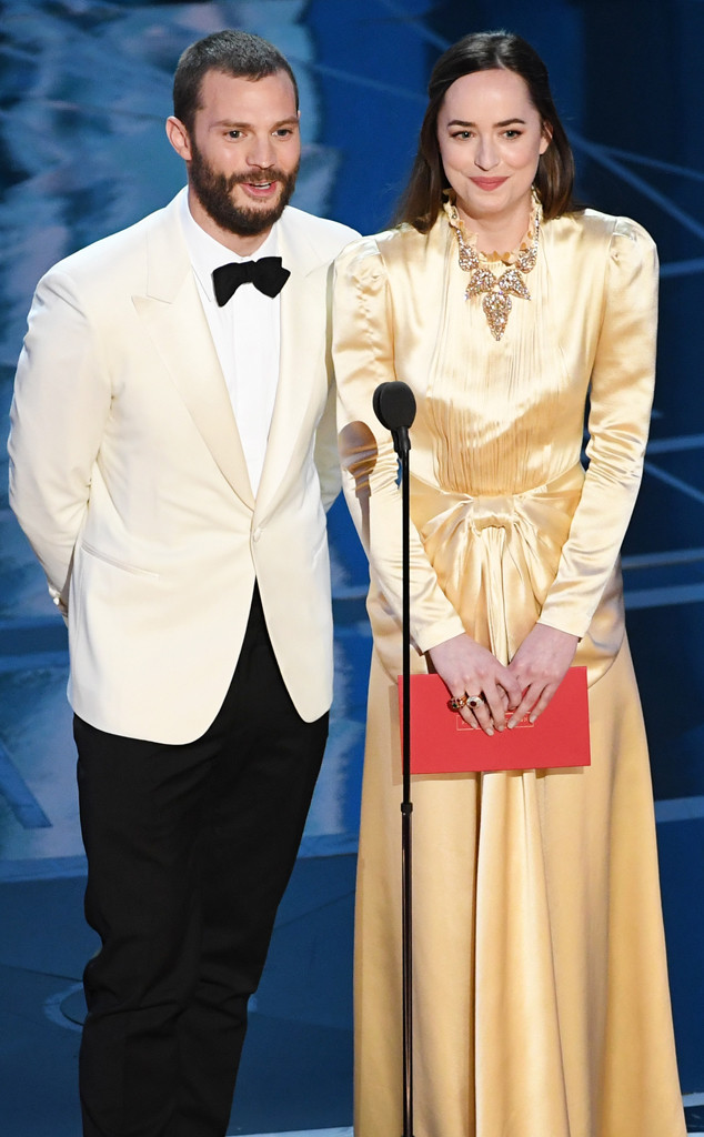 Jamie Dornan, Dakota Johnson, 2017 Oscars, Academy Awards, Show