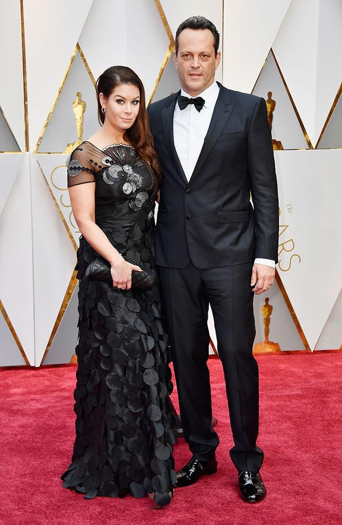 Kyla Weber, Vince Vaughn, 2017 Oscars, Academy Awards, Couples