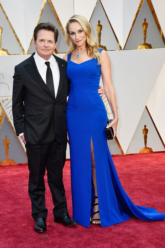 Michael J. Fox, Tracy Pollan, 2017 Oscars, Academy Awards, Couples