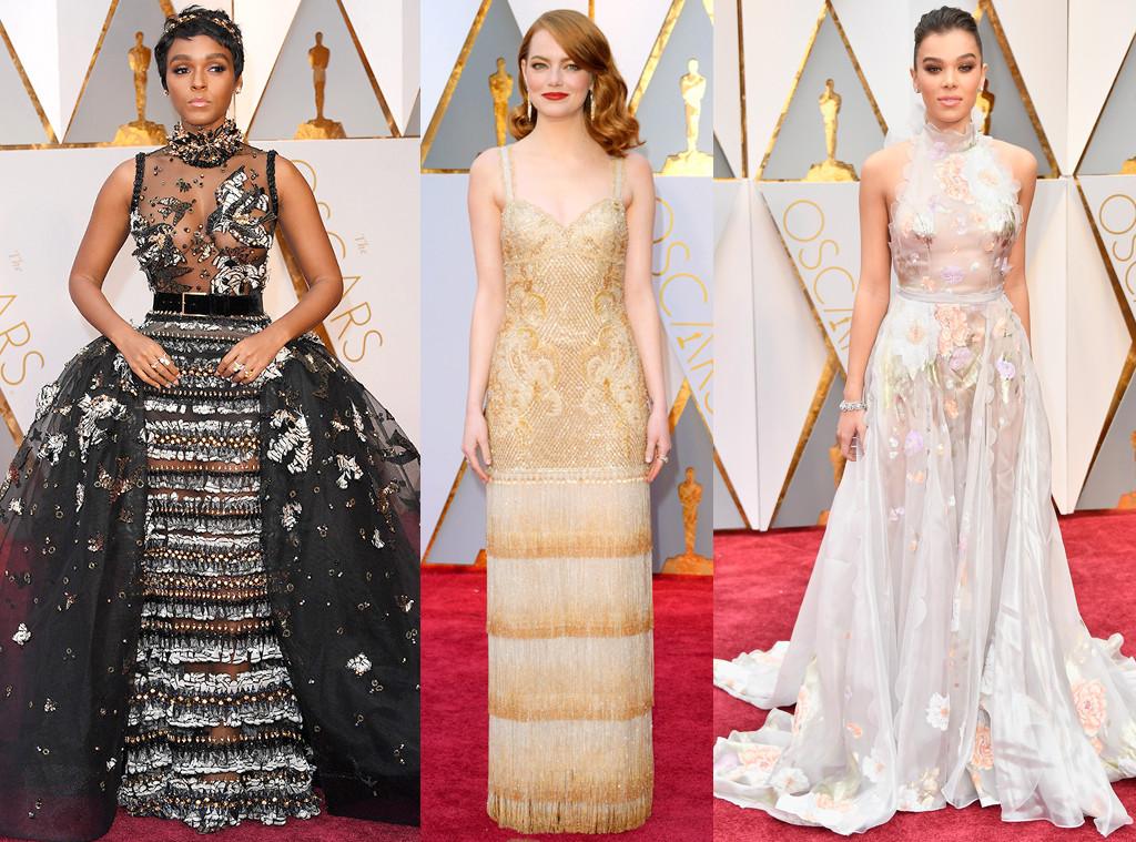 Best Dressed, 2017 Oscars, Academy Awards, Emma Stone, Hailee Steinfeld, Janelle Monae