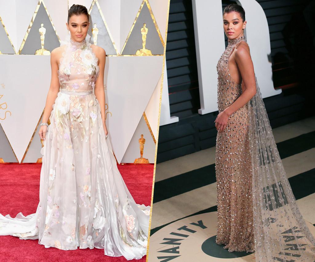 ESC, Hailee Steinfeld, 2017 Oscars, After-Party Looks