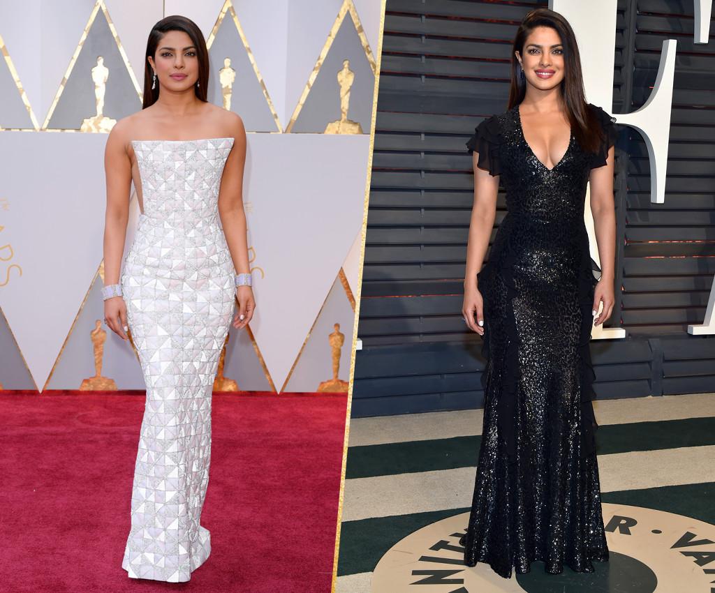 ESC, Priyanka Chopra, 2017 Oscars, After-Party Looks