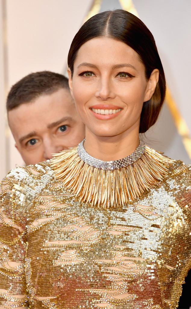 Justin Timberlake, Jessica Biel, 2017 Oscars, Photobomb