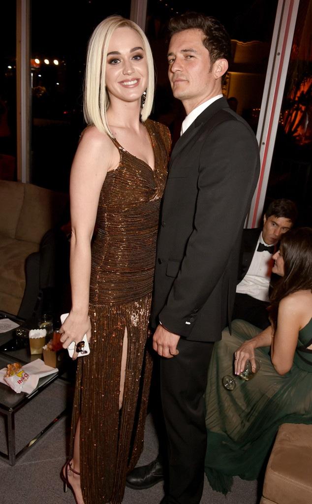 Katy Perry, Orlando Bloom, 2017 Oscars Party Pics, Vanity Fair