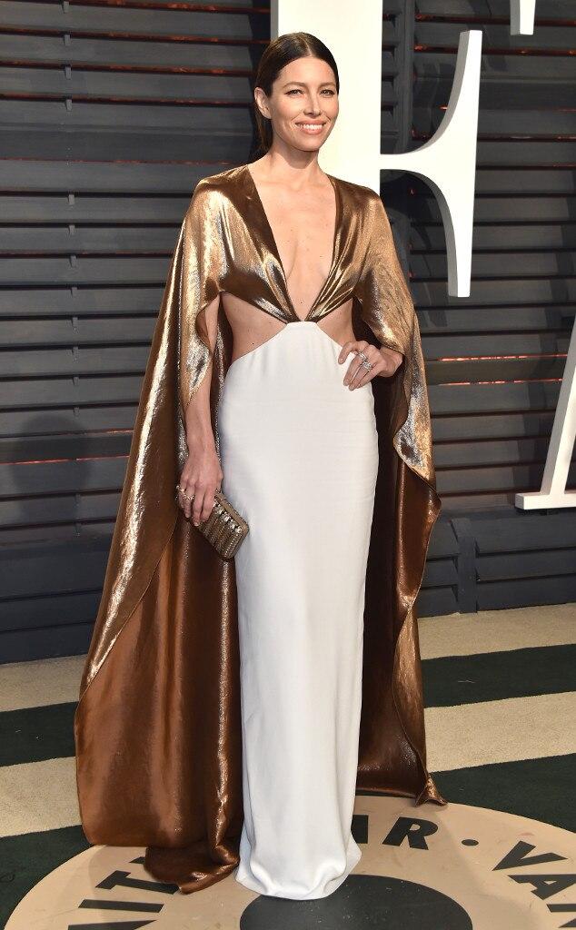Jessica Biel, 2017 Oscars, Vanity Fair After Party