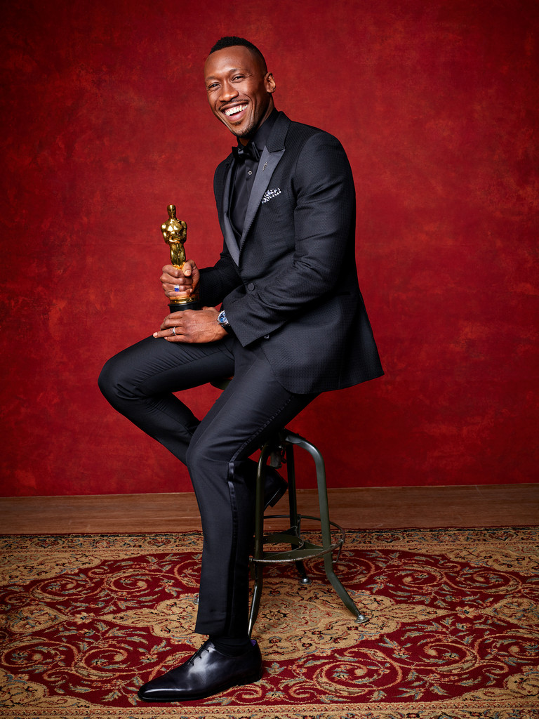 2017 Oscar Winner Portraits, Mahershala Ali, Casey Affleck, Emma Stone, Viola Davis