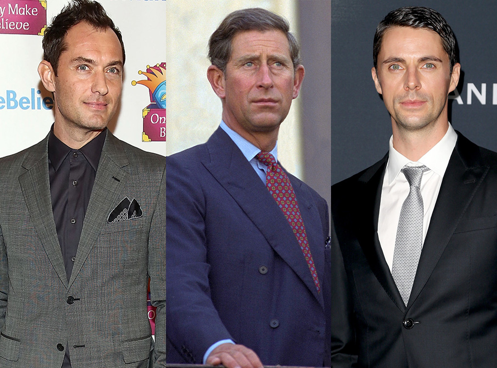 Feud: Charles and Diana, Jude Law, Prince Charles, Matthew Goode
