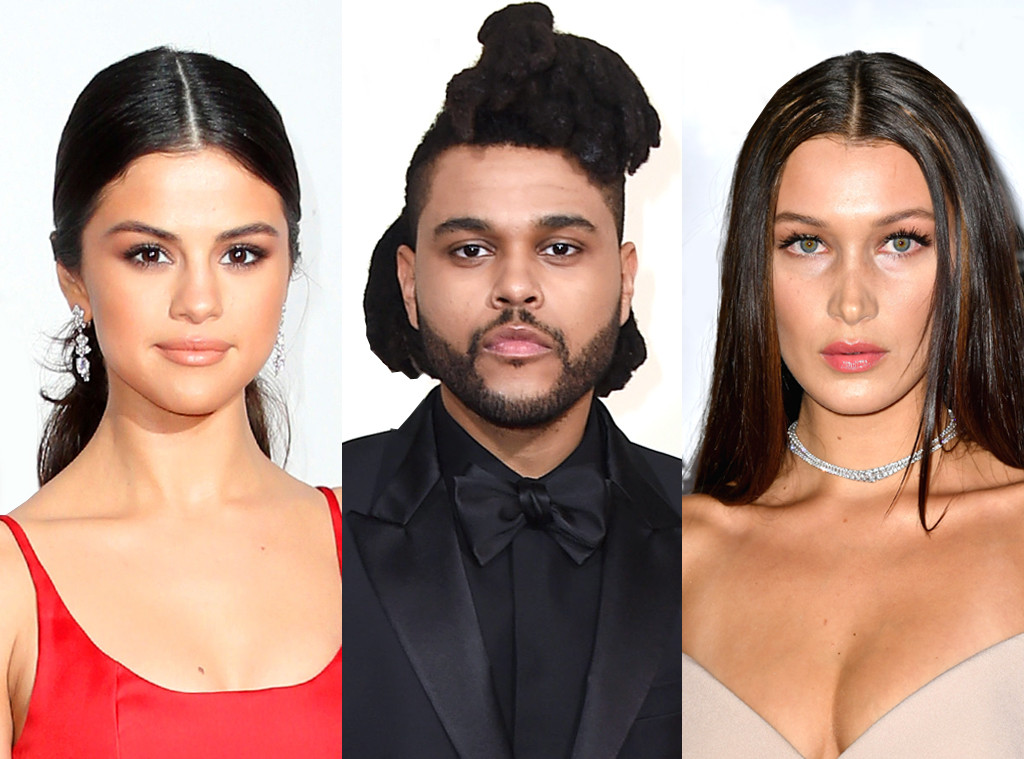 Selena Gomez, Bella Hadid, The Weeknd
