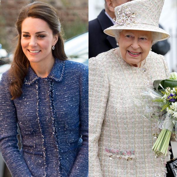 Catherine, Duchess of Cambridge, Kate Middleton, Queen Elizabeth II