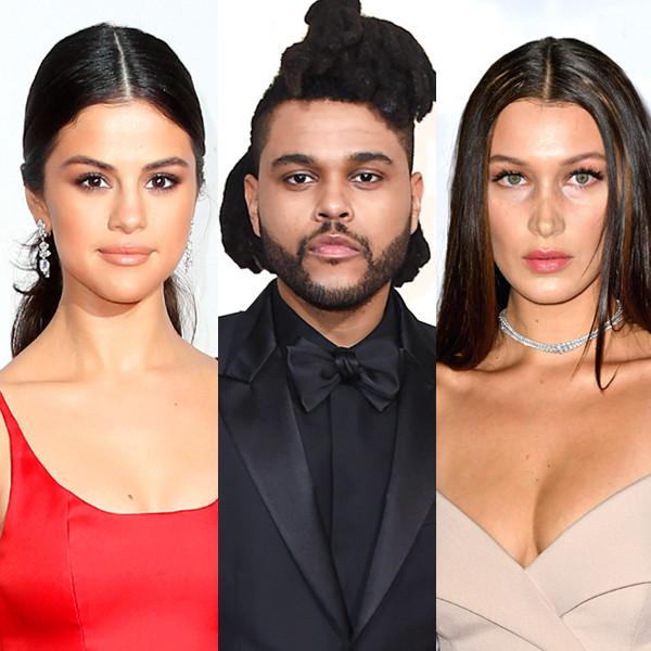 Selena Gomez, Bella Hadid, The Weeknd