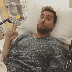 Lance Bass, Instagram