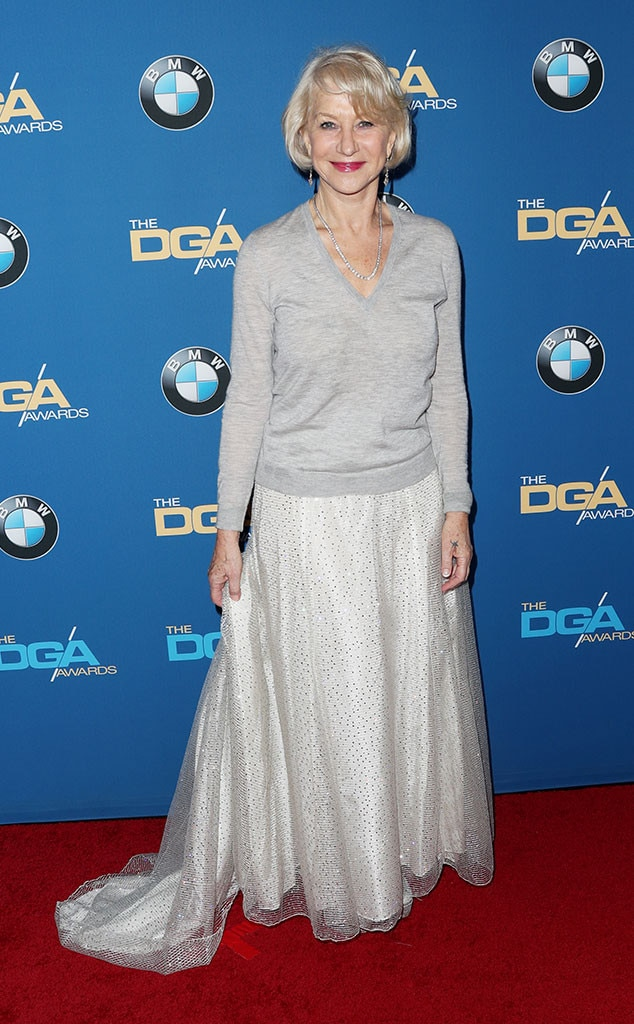 Helen Mirren, 2017 DGA Awards