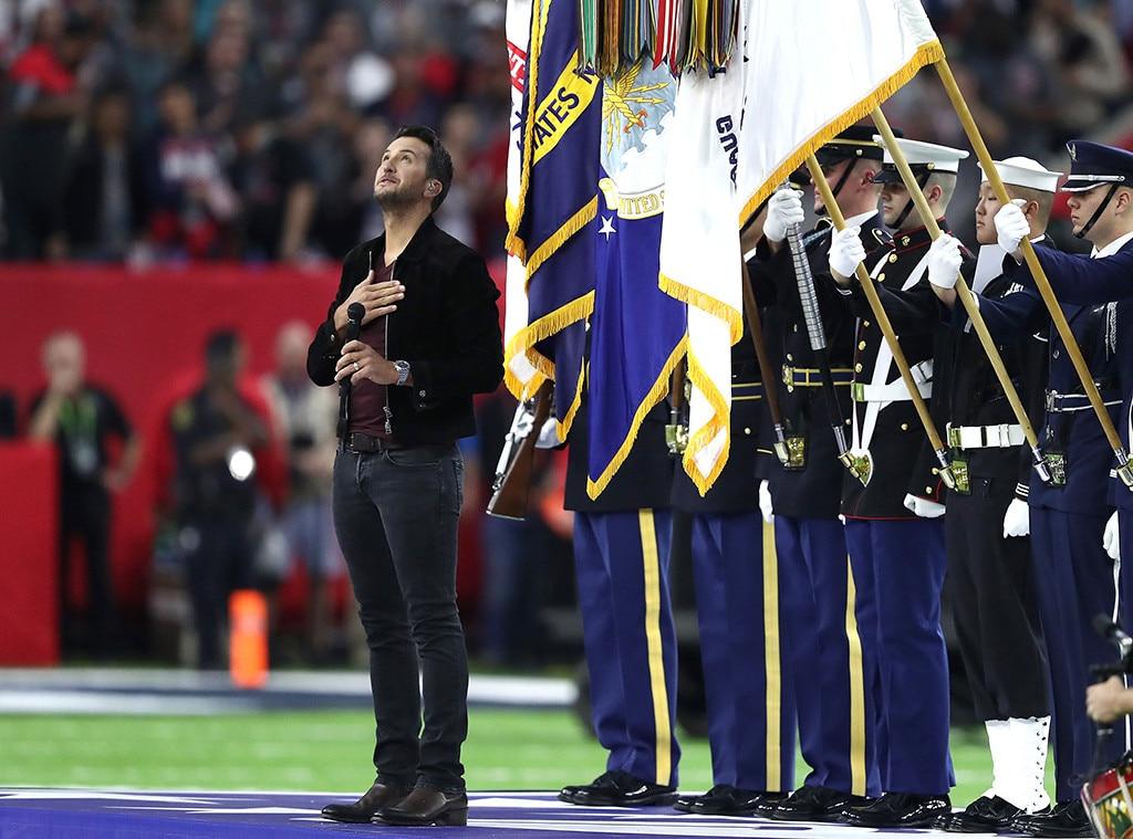 Luke Bryan, 2017 Super Bowl, Anthem
