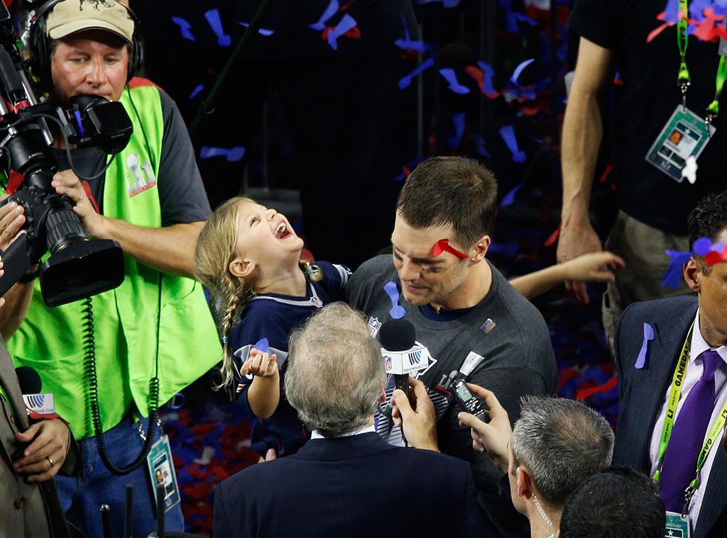 Vivian Brady, Tom Brady, 2017 Super Bowl