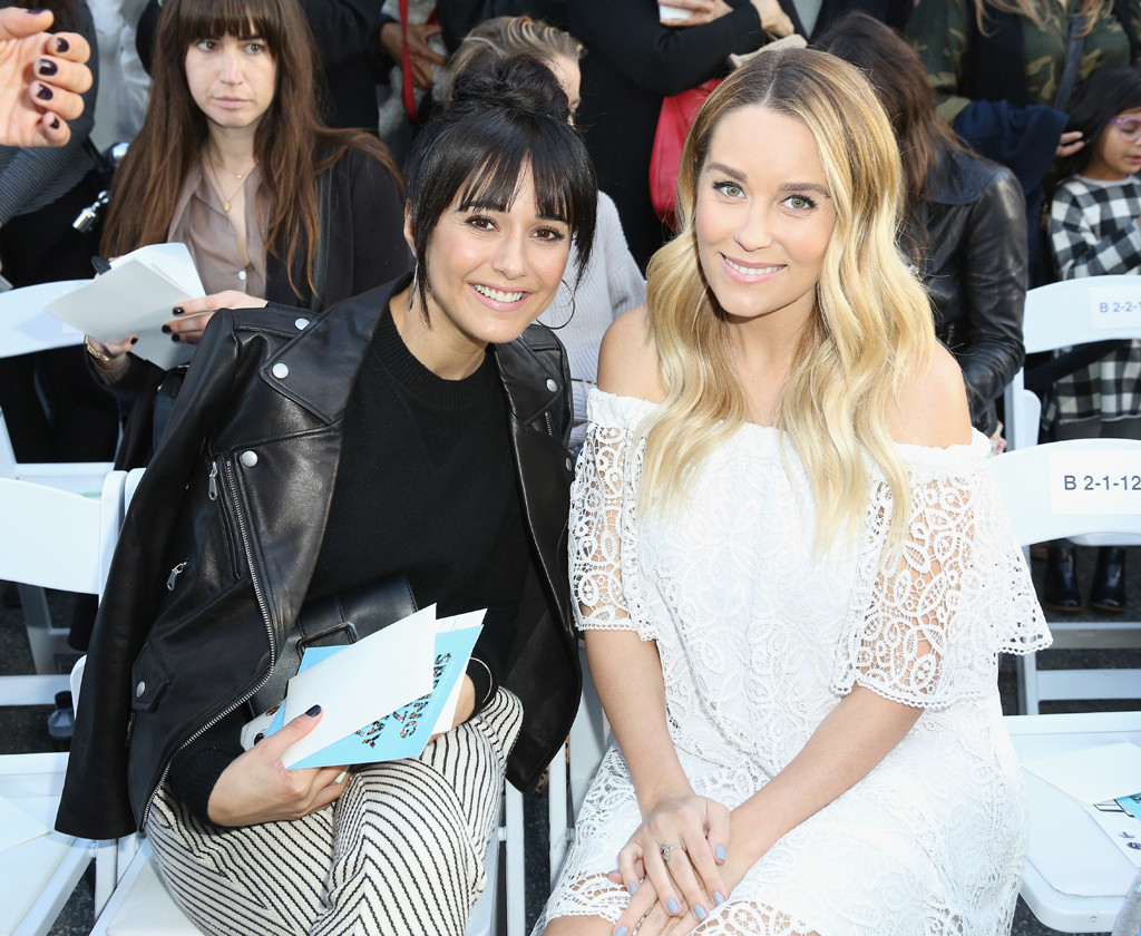 Lauren Conrad, Baby Bump, Emmanuelle Chriqui, Rebecca Minkoff's ''See Now, Buy Now'' Fashion Show