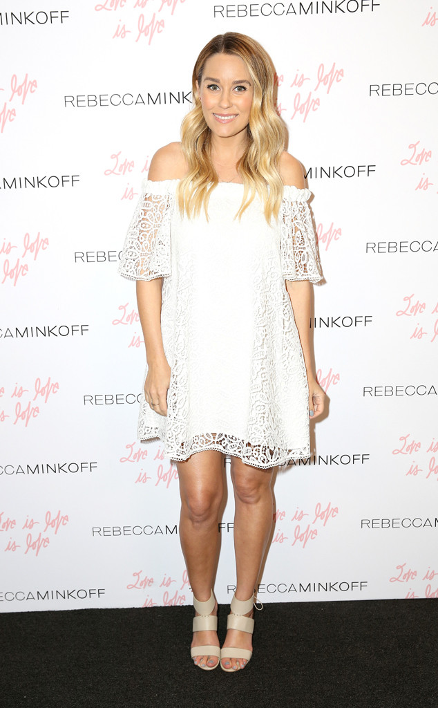 Lauren Conrad, Baby Bump, Rebecca Minkoffs See Now, Buy Now Fashion Show