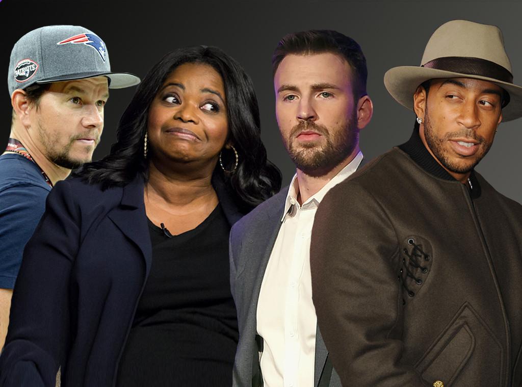 Mark Wahlberg, Octavia Spencer, Chris Evans, Ludacris, Celebrity Super Bowl Feud