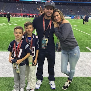 Mark Wahlberg, Family, 2017 Super Bowl