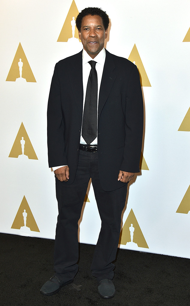 Denzel Washington, Oscars Luncheon
