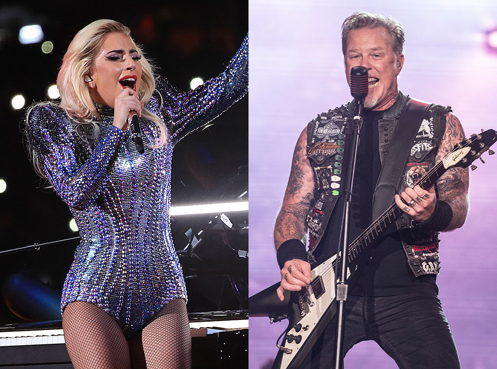 Lady Gaga, Metallica