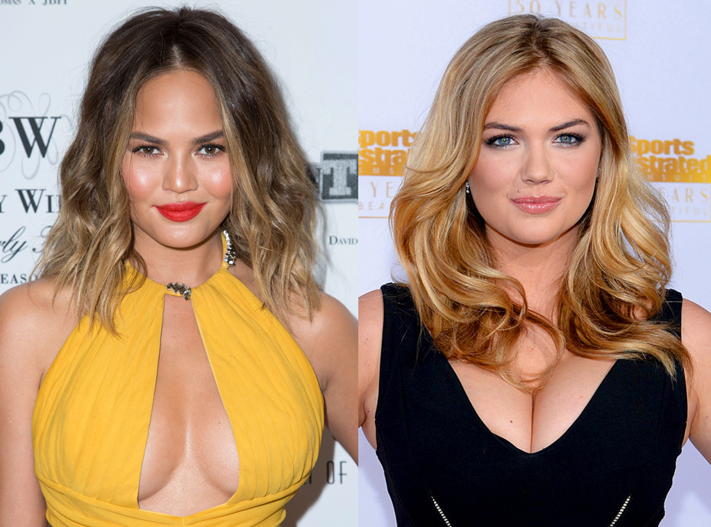 Chrissy Teigen, Kate Upton