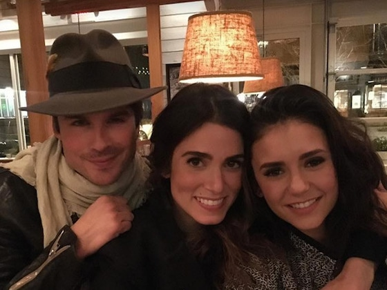 Nina Dobrev, Ian Somerhalder and More Celebrity Exes Who Remain Friends