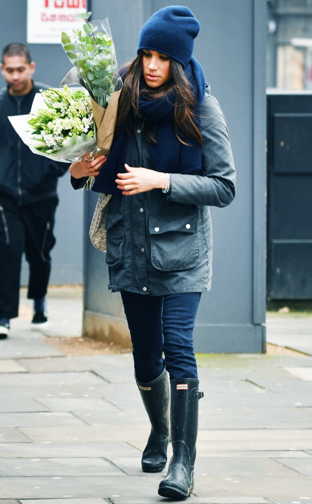Hunter boots celebrity style watch
