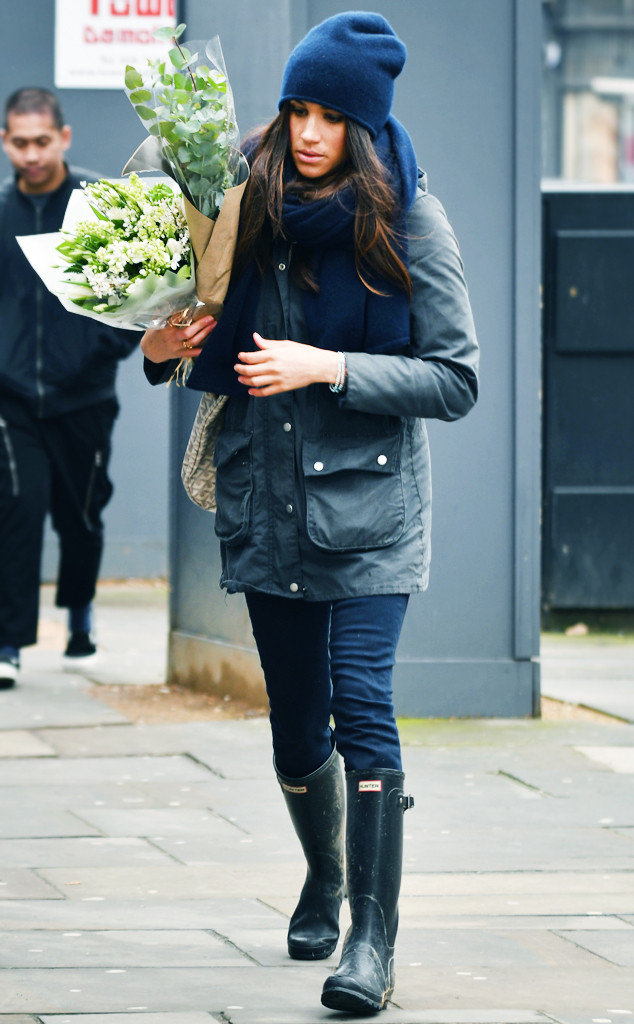 ESC: Meghan Markle, Hunter Boots