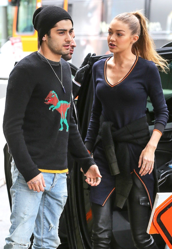 Zayn Malik amp Gigi Hadid From The Big Picture Todays Hot