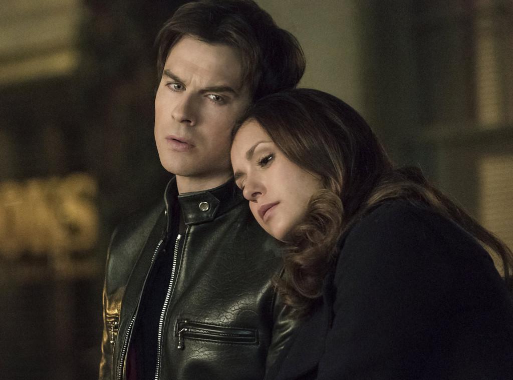 The Vampire Diaries, Ian Somerhalder, Nina Dobrev