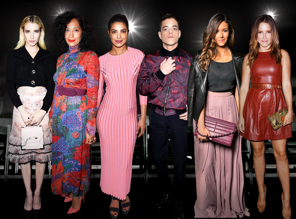 Whos Who of NYFW Front Row, Small Screen Stars
