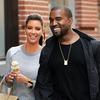 Kim Kardashian, Kanye West, Ice Cream, NYC