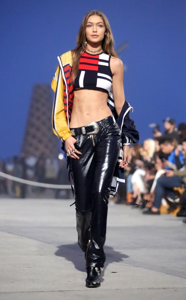 6ec5ff47e Gigi Hadid from All The Looks From Tommy x Gigi 2017