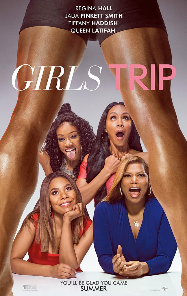 Girls Trip, Regina Hall, Jada Pinkett Smith, Tiffany Haddish
