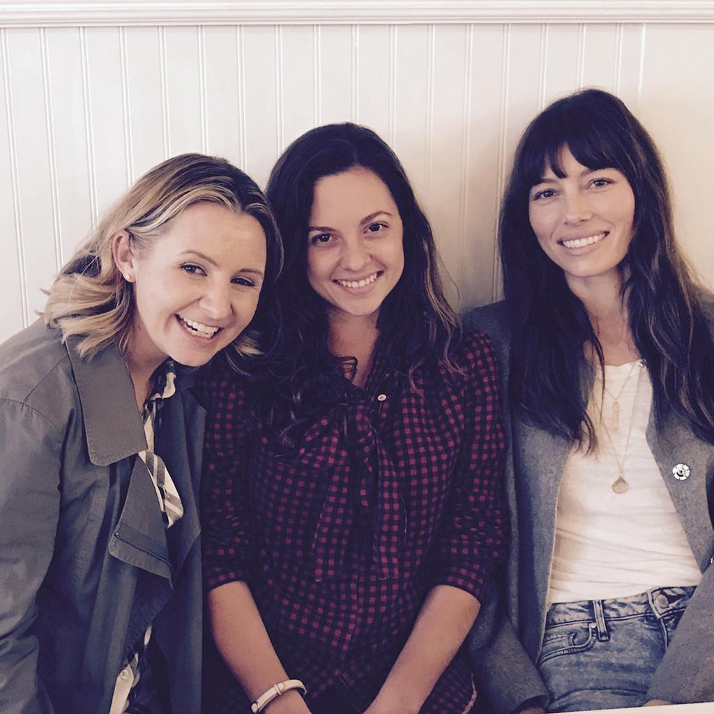 7th Heaven reunion, Beverley Mitchell, Jessica Biel, Mackenzie Rosman