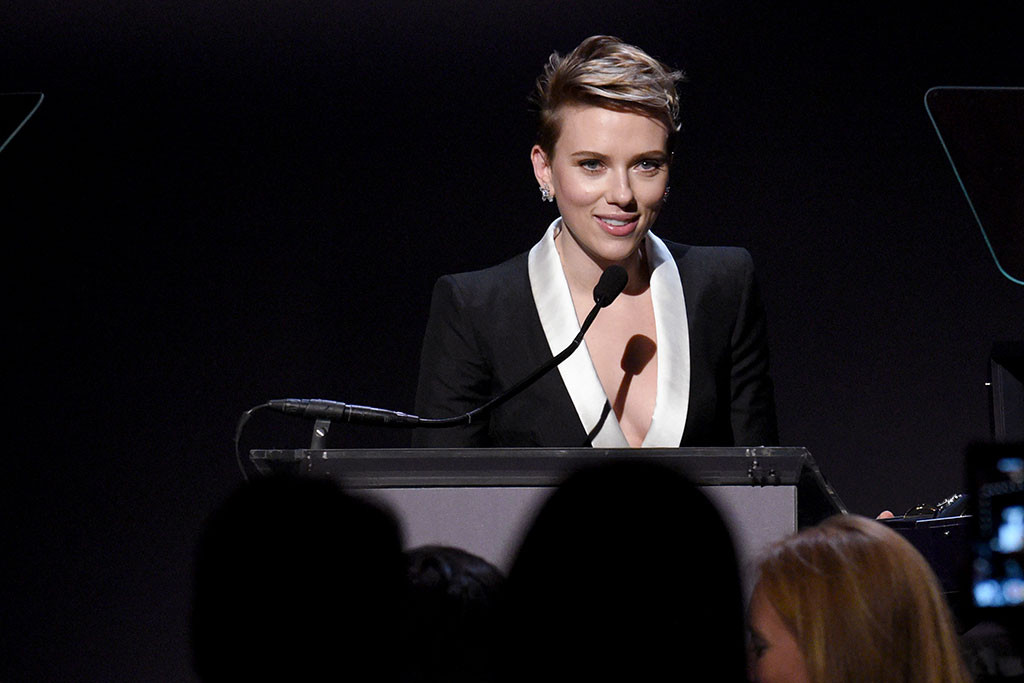 Scarlett Johnasson, amfAR Gala