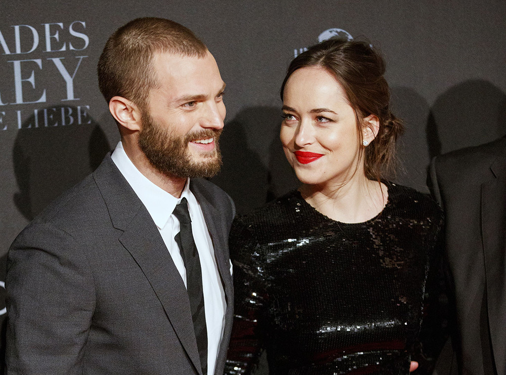 Jamie Dornan, Dakota Johnson, Fifty Shades Darker, World Press Tour