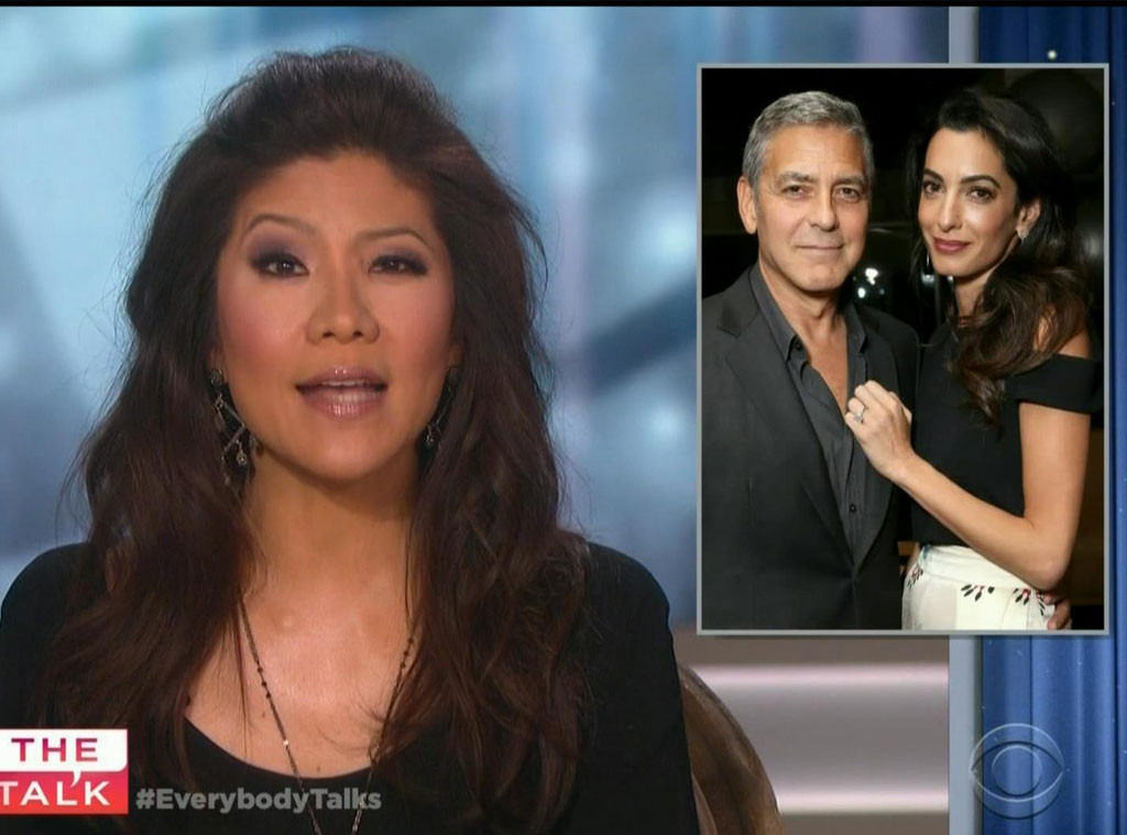 Julie Chen, The Talk, Clooney Pregnancy Screengrab