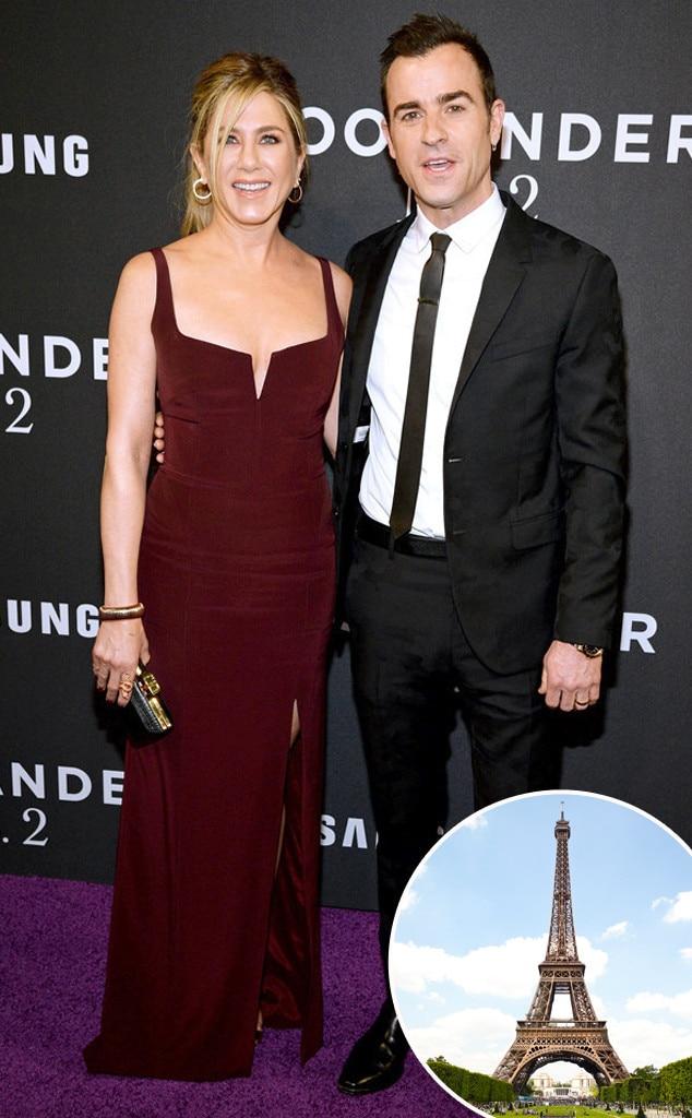 Jennifer Aniston, Justin Theroux, Valentine's Day Gift
