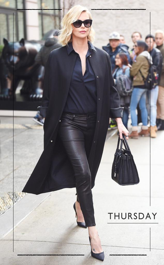 ESC: Charlize Theron, 5 Days