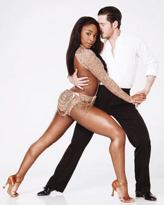 Normani Kordei, Val Chmerkovskiy, Dancing With the Stars