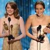 Emma Stone, Jennifer Lawrence, Oscar Win