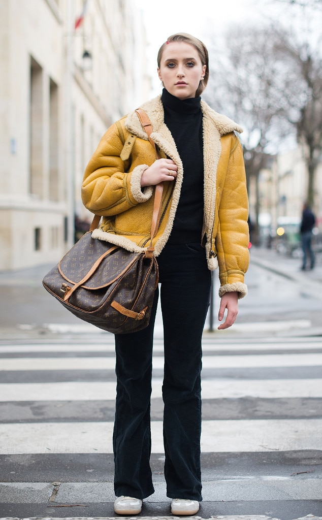 Photo 747195 From Best Street Style From Paris Fashion Week Fall 2017 E News
