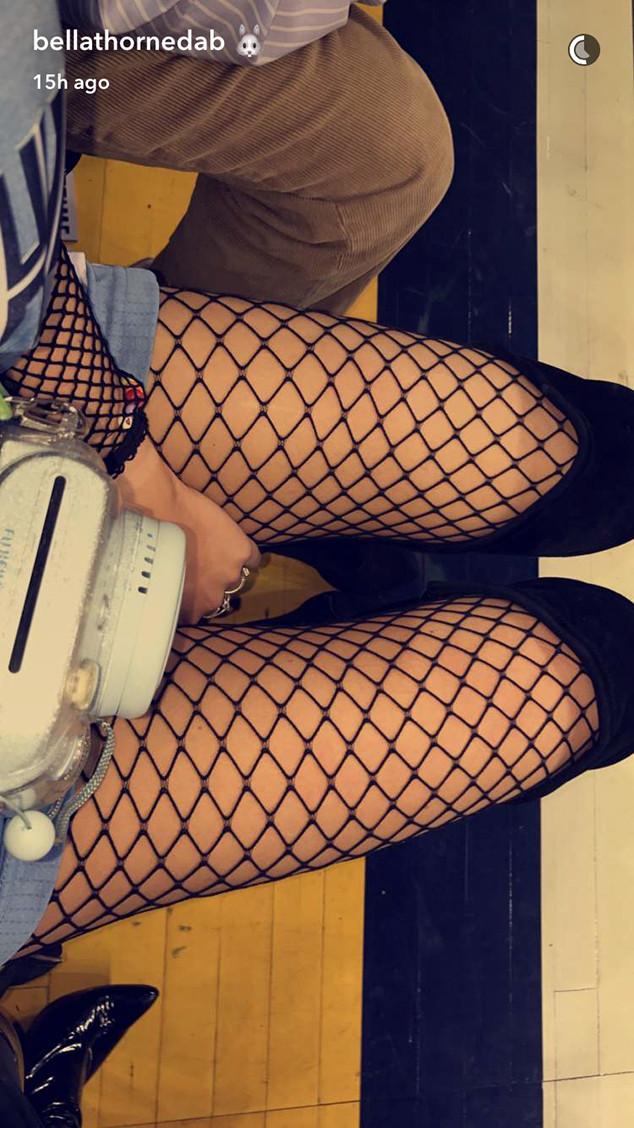 Bella Thorne, Snapchat