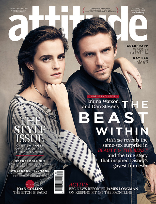 Emma Watson, Dan Stevens, Attitude
